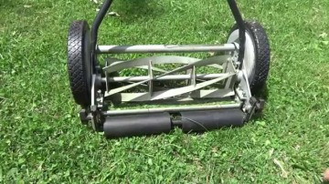manual mower